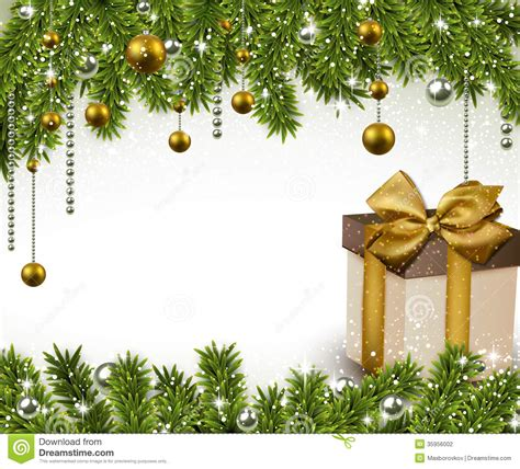 christmas background  gift box stock photography