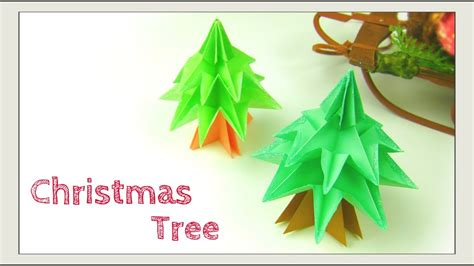 christmas tree out of paper crafts origami tree modular tree paper crafts paper tree