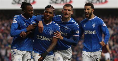 Rangers' fixture list for the 2020/21 Scottish Premiership ...