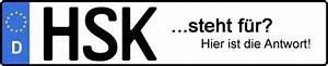 Hsk Kennzeichen Reservieren : wof r steht das kfz kennzeichen hsk kfz kennzeichen ~ Eleganceandgraceweddings.com Haus und Dekorationen