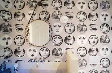 the girl behind the wallpaper