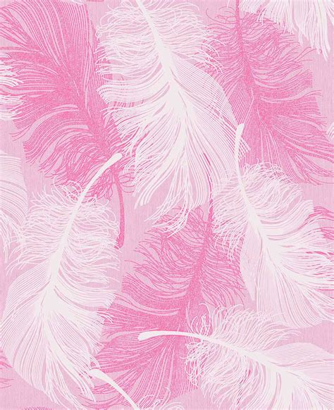 wood kitchen coloroll feather powder pink wallpaper inspired wallpaper