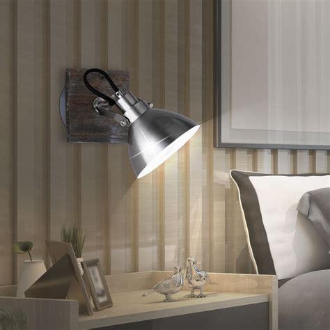 led wandstrahler landhaus stil wohnzimmer holz beleuchtung