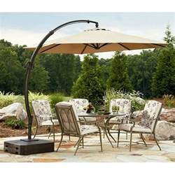 yjaf 013t garden oasis 11 5 ft steel offset cantilever umbrella garden winds