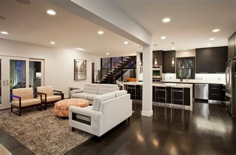 salon et cuisine moderne cuisine ouverte sur salon une solution pratique et moderne