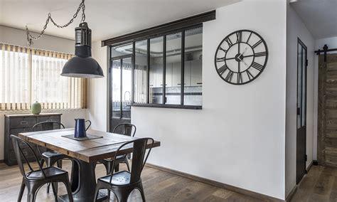 les cuisines à vivre verrière cuisine avec fenêtre ouvrants steel in box