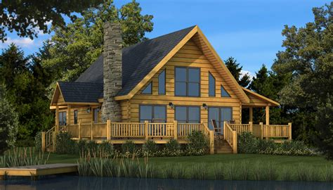 Log Cabin Home Plans by Rockbridge Plans Information Southland Log Homes