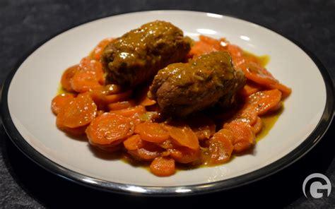 comment cuisiner paupiette de veau recettes plats gastronomico