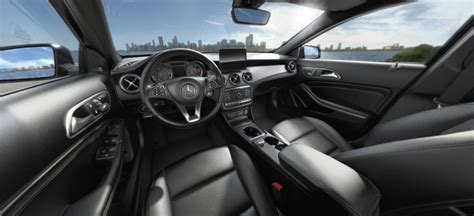 Years 2021 2020 2019 2018 2017. 2018 Mercedes-Benz GLA interior Black Leather_o - Silver Star Motors