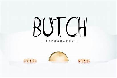 Butch Font Marker Display Typeface Fonts Fribly