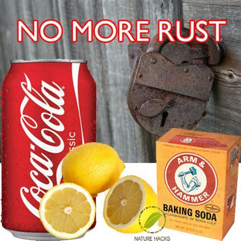ways  naturally remove rust