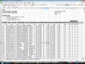 Escrow Analysis Spreadsheet by Free Audit Working Papers Payroll Audit