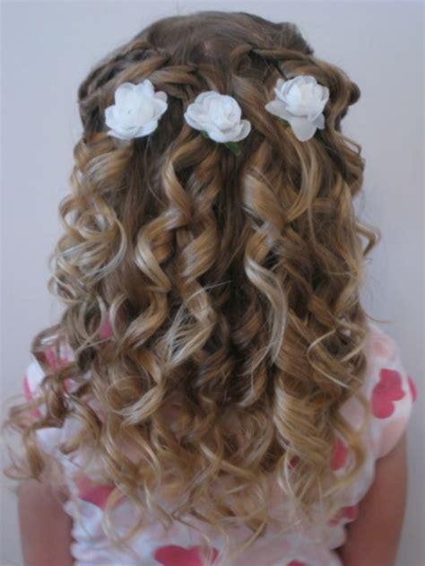 coiffure cheveux long enfant tendances