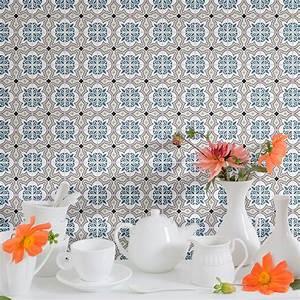 Stickers Carreaux De Ciment Cuisine : 9 stickers carreaux de ciment azulejos amadis cuisine ~ Melissatoandfro.com Idées de Décoration