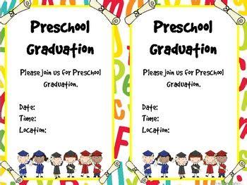pre k graduation certificates invitations and memory book 892 | original 613279 3