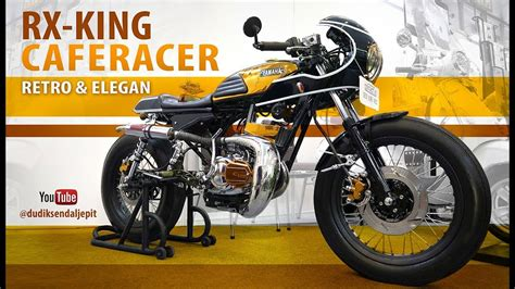 Modif Rx King Cafe Racer by Yamaha Rx King Modifikasi Caferacer Fairing Retro