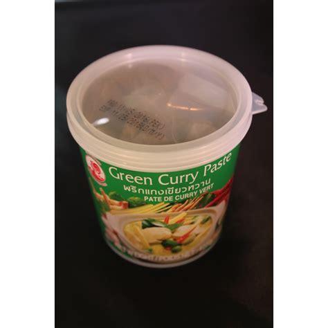p 226 te de curry vert 400g coq le carr 233 asiatique