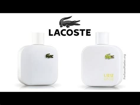 lacoste l 12 12 blanc limited edition 2014 fragrance