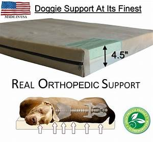 large breed dog beds l orthopedic gel memory foam real With dog beds for large dogs with hip problems