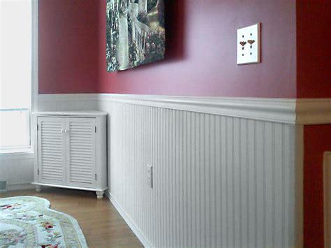 Beadboard Chair Rail : Stylish Wainscoting Ideas-living Room Wainscoting Painting
