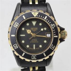 Women's Tag Heuer Black Coral Watch - Evaluated By ...