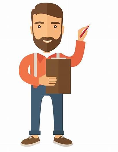 Teacher Transparent Vector Male Clipart Background Teaching