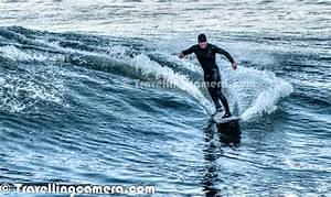 Surfing under the Golden Bridge @ San Francisco ...