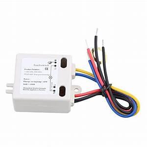 Ein Aus Schalter 220v : 2 33 bqlzr xd609 4 modus ein aus touch schalter sensor ~ Jslefanu.com Haus und Dekorationen