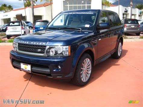 land rover range rover sport hse  baltic blue
