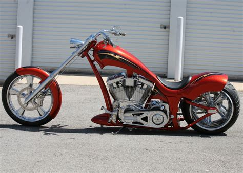 Tangerine Dream Harley-davidson Custom