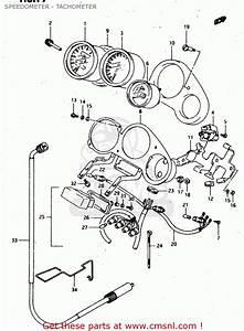 Suzuki Rgv250 1991  M  Speedometer