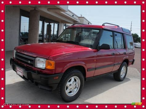 red land rover 1997 rioja red land rover discovery sd 51134143