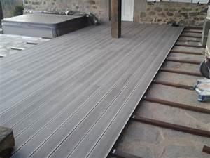 Terrasse Lame Composite : terrasse en lame composite ~ Edinachiropracticcenter.com Idées de Décoration