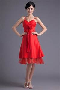 Robe Mi Longue Mariage : robe cocktail rouge pas cher pour assister un mariage d t blog officiel de ~ Melissatoandfro.com Idées de Décoration