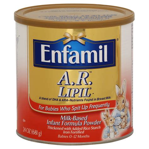 Enfamil Ar Lipil Infant Formula Milk Based Powder 24
