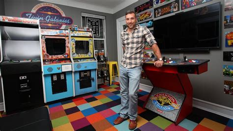 gaming fanatic dumped  fiancee   builds arcade