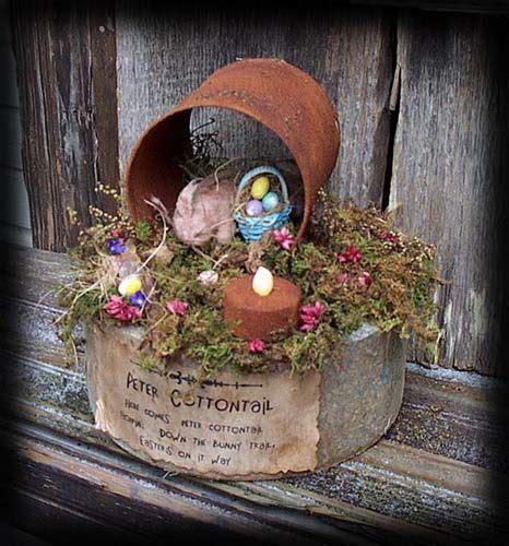 Best Easter Rustic Prim Images Pinterest