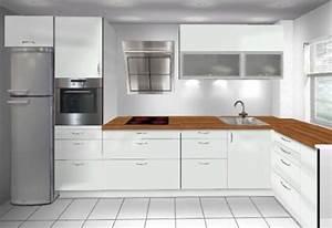 Kleine Küche L Form : k che planen l form ~ Bigdaddyawards.com Haus und Dekorationen