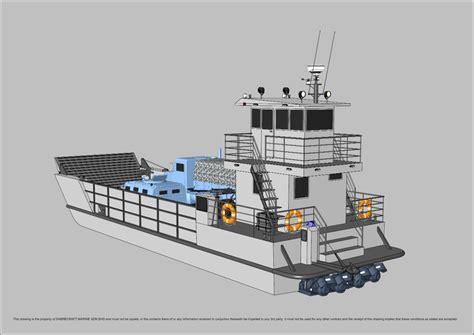 sabrecraft marine landing craft  meter work boat