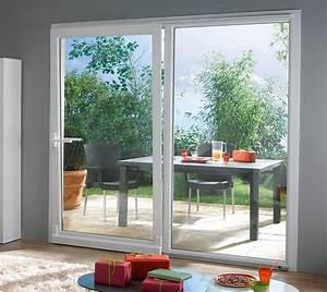 Baie Vitree Coulissante : baie vitre coulissante castorama finest latest baie ~ Dallasstarsshop.com Idées de Décoration
