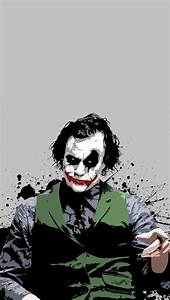 Heath The Joker iPhone 5 Wallpaper (640x1136)