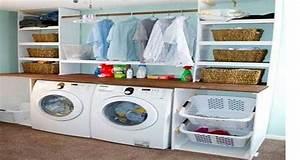 Astuce Rangement Cuisine Pas Cher : meubles rangement buanderie pas cher ~ Melissatoandfro.com Idées de Décoration