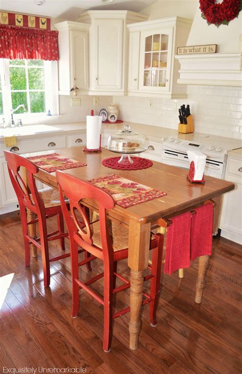 kitchen table or island turn your kitchen table into a farmhouse island