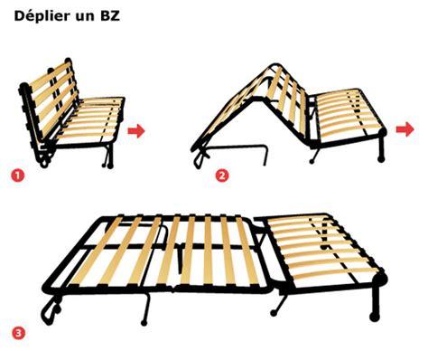conforama canape cuir canapé bz méthode de pliage dépliage et prix