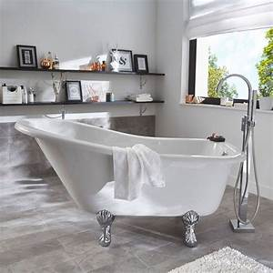 Baignoire Patte De Lion : le charme de la baignoire pattes de lion joli place ~ Melissatoandfro.com Idées de Décoration