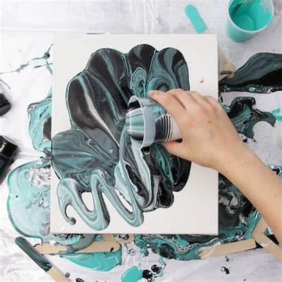 Acrylic Pour Painting Techniques Pours Tips Pouring