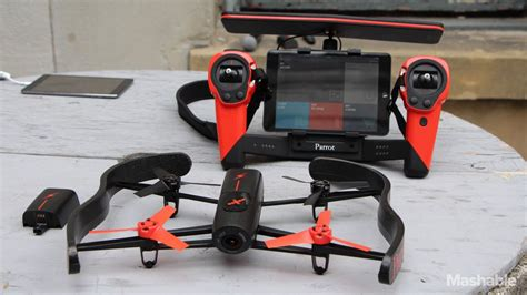 parrot introduces oculus rift enabled drone