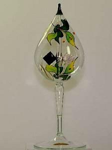 Orchidee Klebrige Tropfen : lichtm hle m fu tropfen 8 cm orchidee gr n glas ~ Lizthompson.info Haus und Dekorationen