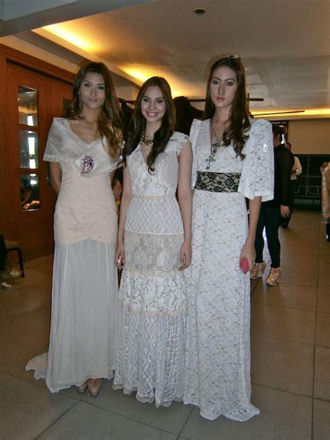 rent wedding dresses tippi oco modern filipiniana