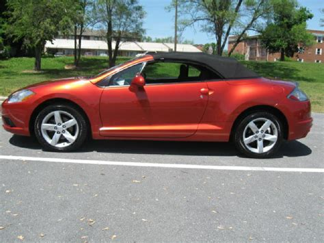 Mitsubishi Eclipse Convertible For Sale by 2009 Mitsubishi Eclipse Convertible For Sale 98 Used Cars